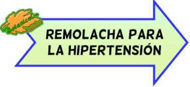 remolacha hipertension