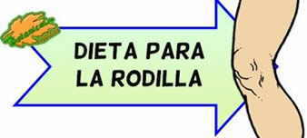 dieta rodilla