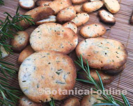 galletas de romero