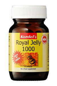 royal jelly displayed in a store.