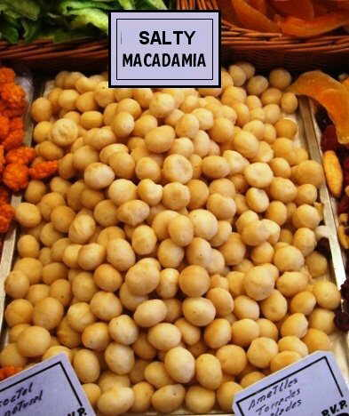 CaramelizedSalty macadamia nuts