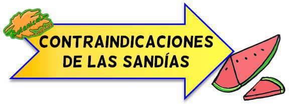 condraindicaciones de las sandias