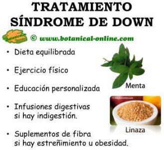 tratamiento natural con plantas y suplementos para el sindrome de down