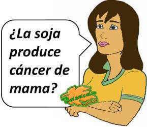 soja para el cancer de mama y utero