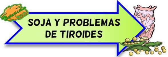 soja y problemas de tiroides