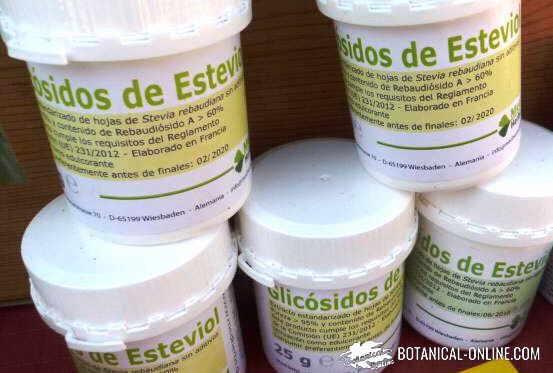 glicosidos esteviol 960 edulcorante