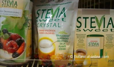productos de stevia edulcorantes del supermercado