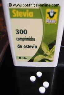 stevia comprimidos