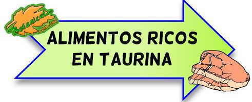 alimentos ricos en taurina
