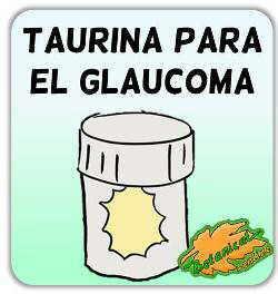 taurina para el glaucoma vision