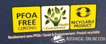sarten de teflon etiqueta pfoa