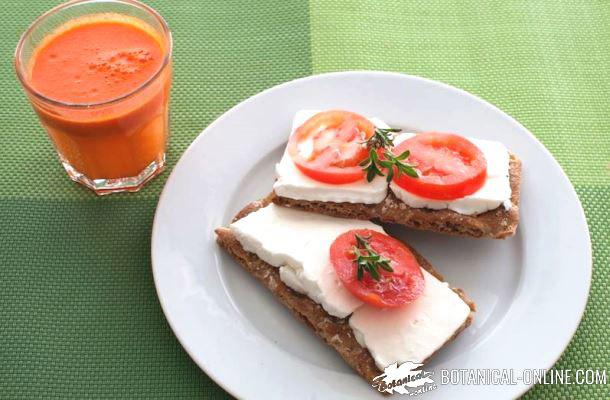 Menu semanal de desayunos saludables