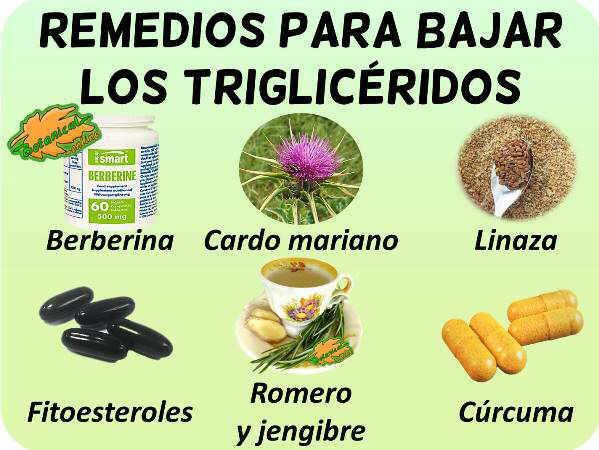tratamiento natural para bajar colesterol y trigliceridos