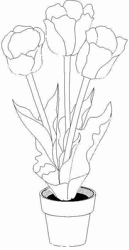 Dibujos De Flores Para Pintar