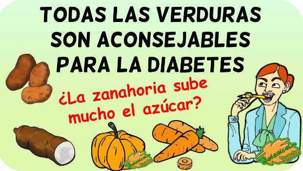 verduras diabetes