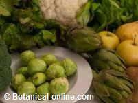 alimentos naturales para desintoxicar una intoxicación alimentaria