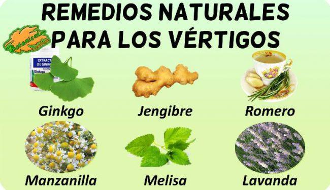 vertigo remedios con plantas medicinales