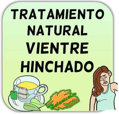 tratamiento natural barriga hinchada vientre hinchado