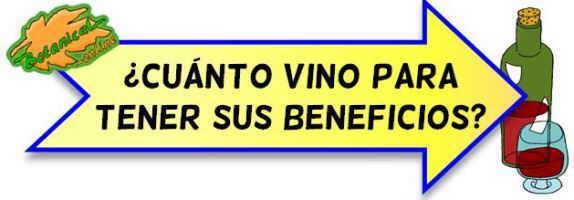 cantidad de vino recomendada