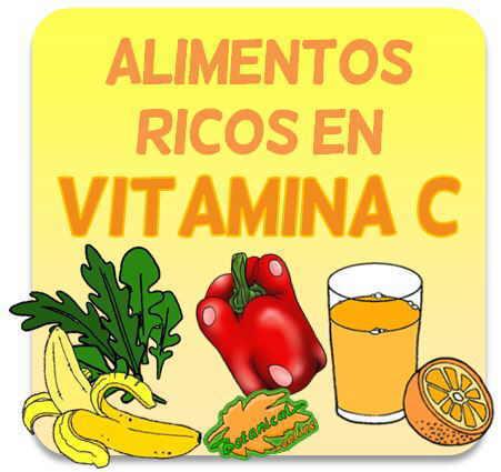 alimentos q contienen vitamina c