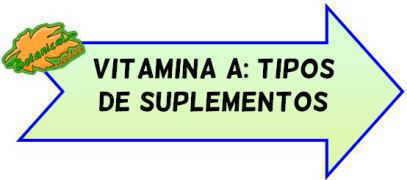 tipos de suplementos de vitamina a