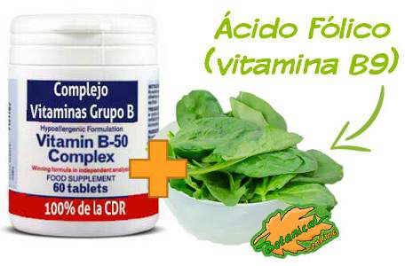 vitamina b12 y b9