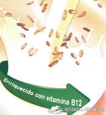 vitamina d en bebidas vegetales