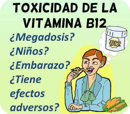 toxicidad de la vitamina b12