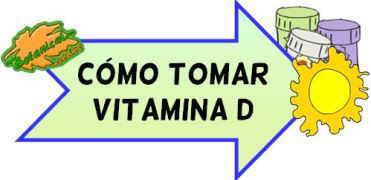 como tomar vitamina d