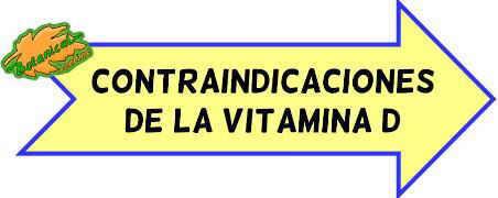 contraindicaciones vitamina d