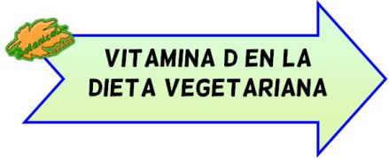 vitamina d dieta vegetariana