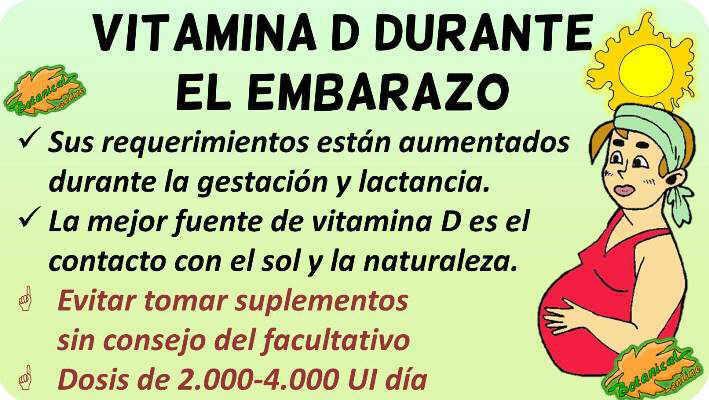 vitamina d embarazo suplementos