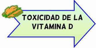 toxicidad de la vitamina d