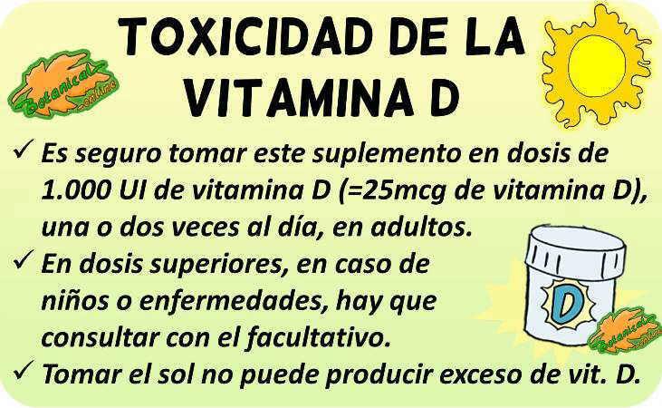vitamina d toxicidad