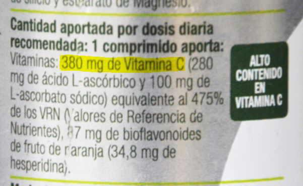 suplemento nutricional de vitaminas minerales malo bueno alimento