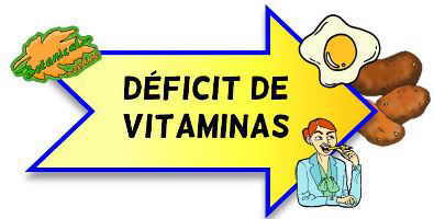 deficit de vitaminas avitaminosis
