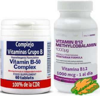 suplementos vitamina b12 y b9