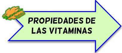 propiedades de las vitaminas
