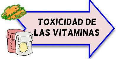 toxicidad de las vitaminas
