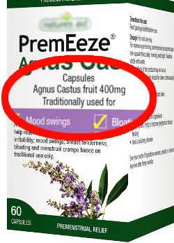 comprar vitex agnus castus sauzgatillo 400 mg dia frutos