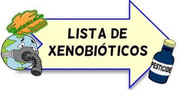 Lista de xenobioticos