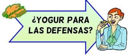yogur defensas