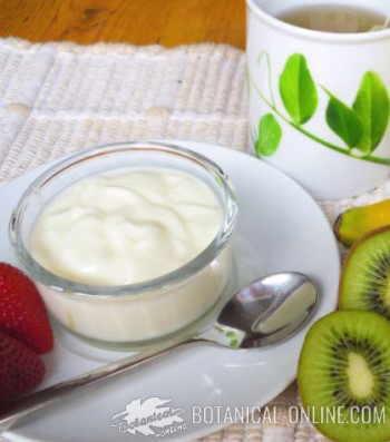 yogur con avena pasas nueces