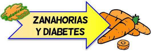 zanahorias diabetes